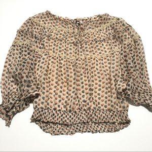 Sundance • silk blouse